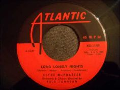 Clyde McPhatter's Version - *Long Lonely Nights* - Beautiful Version - Probably 1959/60 YouTube