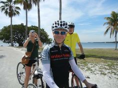 Pic of the Day... thanks Shelley Patterson at Buddy Bike for this pic of our own man in Florida, Ken Bryan, taking a few RTC friends for a ride on the Old Cutler Trail. Under magnificent fichus trees and banyans, this 11-mile trail winds through some of the beautiful parks and gardens in the greater Miami area. Plan your next leafy getaway at www.traillink.com