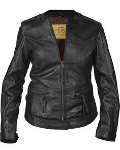 STS Ranchwear Women's Douglas Black Leather Jacket