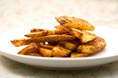 Vegan Baked Garlic Curry Fries