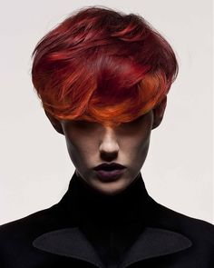 awesome Multi Tonal Red Hair Color For Women - Stylendesigns.com!