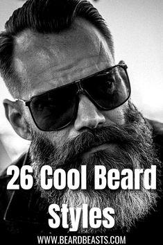 Types Of Beard Styles, Beard Styles For Men, Hair And Beard Styles, He Got Game, Long Beards, Awesome Beards, Beard Care, I'm Happy, Men's Grooming