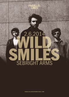 Tonight! Wild Smiles at Sebright Arms   http://deviatemagazine.com/june-london-gig-guide/