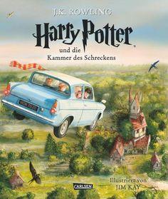 Harry Potter, Band 2: Harry Potter und die Kammer des Schreckens (vierfarbig illustrierte Schmuckausgabe)