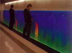 Thermochromic Urinal, how clever.