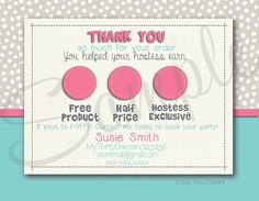 Show misey! 31 Customized Customer Thank You Postcard