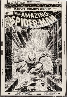 Gil Kane and John Romita Sr. Amazing Spider-Man #151 Cover | LotID #16002 | Heritage Auctions