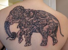 Elephant Tattoo - 55 Elephant Tattoo Ideas  <3 <3