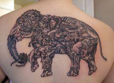 Elephant Tattoo - 55 Elephant Tattoo Ideas  <3 <3