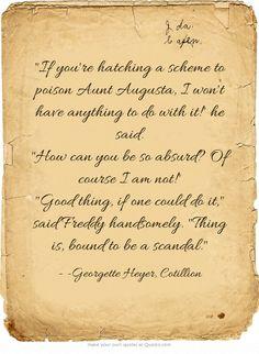 Cotillion, by Georgette Heyer