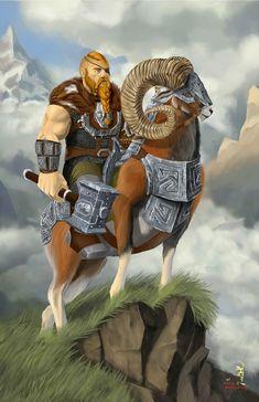 Commander of the dwarf, Yuri Nesterchuk Character Concept, Character Art, Concept Art, Character Design, Dnd Characters, Fantasy Characters, Fantasy Dwarf, Pathfinder Character, Wolf Howling