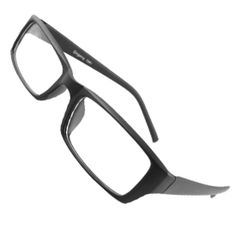 Plastic Rim Clear Lens Plano Glasses for Men And Women ($6.08) http://www.amazon.com/exec/obidos/ASIN/B007MJVKCY/hpb2-20/ASIN/B007MJVKCY Very sturdy, great feel. - And the frame was broken upon arrival. - Perfect for my Doctor Who cosplay.