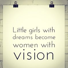 Don't try and destroy my vision because you've never given thought to yours!