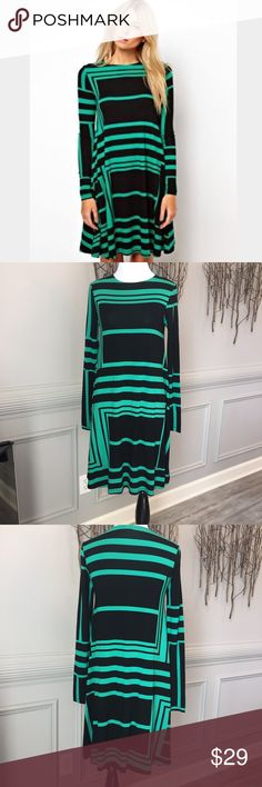 TODAY ONLY PRICE! ASOS- NWOT Swing Dress Never worn! Perfect condition! Beautiful color! Swing Dress in Monochrome Print. ASOS Dresses
