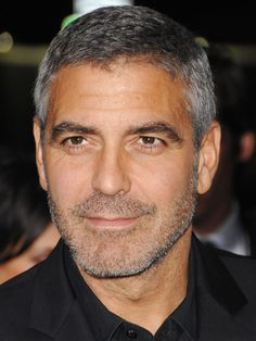 George Clooney. Our affair began with ER and went from there. The man is pure gentleman through and through and he makes no apologies for living as a man about town. I adore him for that. Plus, I can't wait until my own beautiful husband is rockin the salt and pepper like him. Tasty!