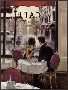 After Hours Framed Canvas Print by Brent Heighton at Art.com