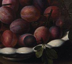louise moillon | Louise Moillon (Paris 1610-1696), Nature morte à la coupe de prunes ...