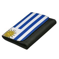 Uruguay flag wallet