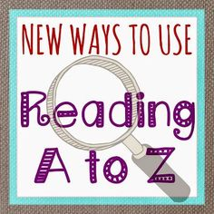 Do you have a Reading A to Z subscription? If not, we'd highly recommend it. This post shows some of the options available if you project the materials on a Smartboard.