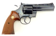 Colt Python .357 Mag caliber revolver. 4inchLoading that magazine is a pain! Get your Magazine speedloader today! http://www.amazon.com/shops/raeind