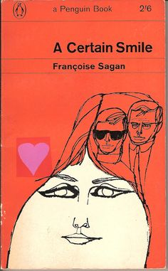 Best Book Covers, Vintage Book Covers, Book Cover Art, Book Cover Design, Vintage Books, Book Design, Antique Books, Françoise Sagan, Graphic Design Books