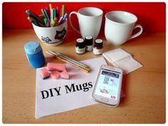 Gate to Neverland: DIY Mugs - tip na Vánoční dárek