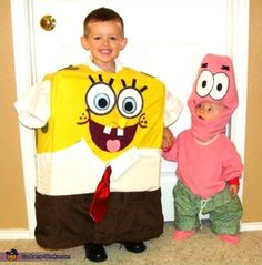 spongebob and patrick costume costumes pinterest