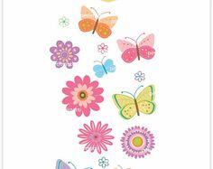 Imágenes Prediseñadas  día de la madre / azul mariposas /