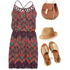 Summer Holiday #1 by vasy92 on Polyvore featuring polyvore, moda, style, maurices, Kaanas and Chloé