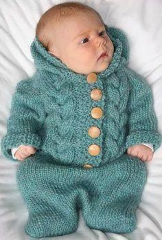 Precioso saco-abrigo para bebe