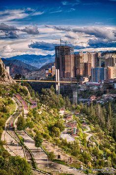 La Paz, Bolivia Foto Rafael Segrurondo