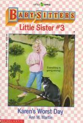 The Baby-Sitters Club Little Sister #3 by Ann M. Martin 1990 Paperback  Karen's Worst Day. $0.99 starting bid.