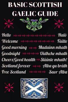 basic phrases in Scots Gaelic