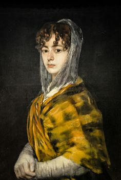 Francisco de Goya - Senora Sabasa Garcia, 1811 at National Gallery of Art Washington DC | Flickr - Photo Sharing!