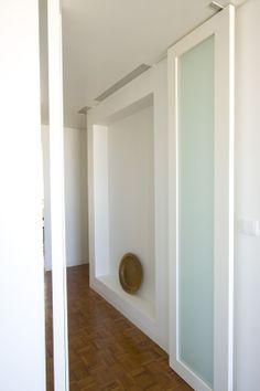 Remodelação de Apartamento - HENRIQUE BARROS-GOMES - Double pivoting doors