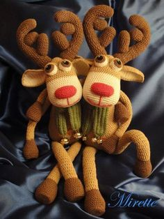 Rudolf deer and his brother