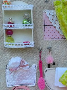 Made to order Sewed Dollhouse with от MummuHandCraftedToys