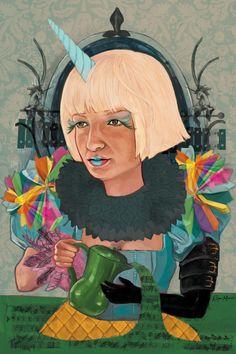 Portrait of Sia