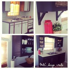 Paint your kitchen cabinets!!