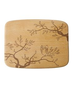 Another great find on #zulily! Nature Owl Cheese Board by Talisman Designs #zulilyfinds