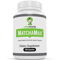 If you're looking for a premium supplement with organic matcha tea from Japan then you have to get Matchamax from Vitamonk. This fantastic matcha tea supplement helps provide a natural energy boost without the annoying jitters.