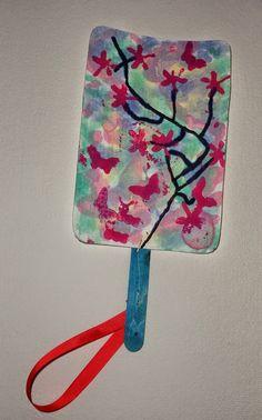 INFANTIL de GRACIA: ABANICOS CHINOS  Y EL CEREZO EN FLOR. Restaurant Themes, Chinese Restaurant, Asian Art, Preschool Activities, Art Lessons, Art For Kids, Arts And Crafts, Crafty, International Festival