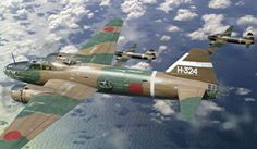 Bombarderos de la Segunda Guerra Mundial // Mitsubishi G4M