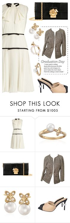 """""""Graduation Day"""" by simpleautumn ❤ liked on Polyvore featuring Giambattista Valli, Mikimoto, Dolce&Gabbana, Chanel and Graduation"""