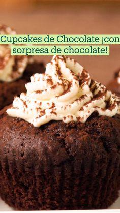Sweet Recipes, Cake Recipes, Dessert Recipes, Desserts, Comida Diy, Tastemade Recipes, Yummy Cupcakes, Beignets, Cupcake Cakes