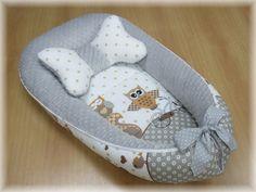 Hnízdečko pro miminko Sovičky Pillows, Cushions, Pillow Forms, Cushion, Scatter Cushions