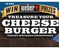 Win 1 of 100 Prizes from Weber including a New Grill! - http://freebiefresh.com/win-1-of-100-prizes-from-weber-including-a-new-grill/