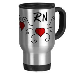 RN Love Tattoo mug