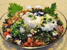夏バテ対策レシピ スタミナうどんレシピ 冷やしネバネバうどん オクラの栄養素 モロヘイヤの栄養素 - 明日という日に向かって