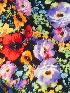 Heart of Haute Erika set in Eden fabric on the blog!    http://www.strangegirl.com/2015/08/06/heart-of-haute-eden-floral-erika-set-perfect-for-summer/